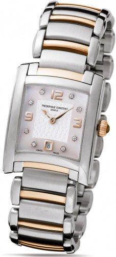 Frederique Constant Geneve Delight FC220WAD2EC2B Reloj elegante para mujeres con diamantes genuinos