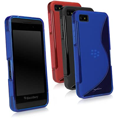 "BoxWave Blackberry z10 DuoSuit - Slim-Fit Ultra Durable TPU Case with Stylish ""S"" Design on Back - Blackberry z10 Cases and Covers by BoxWave Corporation"