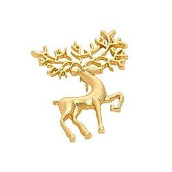 Sorellaz Golden Reindeer Brooch