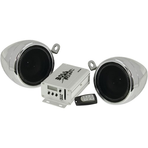 Boss Audio Mc500 Motorcycle Speaker System With Amp