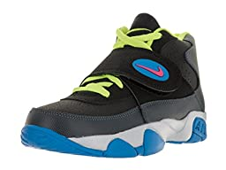 Nike Kids Air Mission (GS) Blk/Hypr Pnk/Dk Mgnt Gry/Pht B Training Shoe 5.5 Kids US