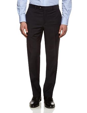 Tommy Hilfiger Tailored Herren Anzughose Brooks STSSLD99001, Einfarbig, Gr. 25, Blau (019)