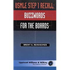 USMLE Step 1 Recall Buzzwords for the Boards