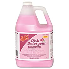 Ajax 14616 1 Gallon Dish Detergent For Hand Dish Washing Pink Rose Lotion (Case of 4)