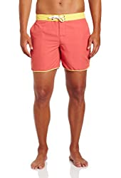 Threads 4 Thought Men's Clean Contrast-Trim Board Short