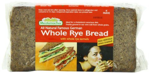 Mestemacher Bread Whole Rye, 17.6-Ounce (Pack of 6) (Whole Grain Bread compare prices)