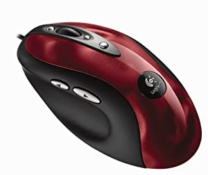 Logitech MX 510 Performance Optical Gaming Mouse (Red)