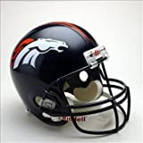 NFL Denver Broncos Deluxe Replica Football Helmet