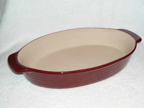 The Pampered Chef New Traditions Oval Baker - Cranberry - Buy The Pampered Chef New Traditions Oval Baker - Cranberry - Purchase The Pampered Chef New Traditions Oval Baker - Cranberry (New Traditions, Home & Garden, Categories, Kitchen & Dining, Cookware & Baking, Baking, Bakers & Casseroles)