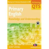 Primary English: Knowledge and Understanding (Achieving QTS Series)by Vivienne Griffiths
