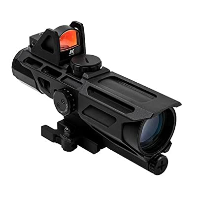 NC Star Ncstar Gen3 Ussx 40mm, 3-9X40Mm, Mil-Dotreticle with Red Dot, One Size from Green Supply