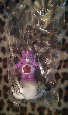 Burger King Purple Light up Care Bear - 1