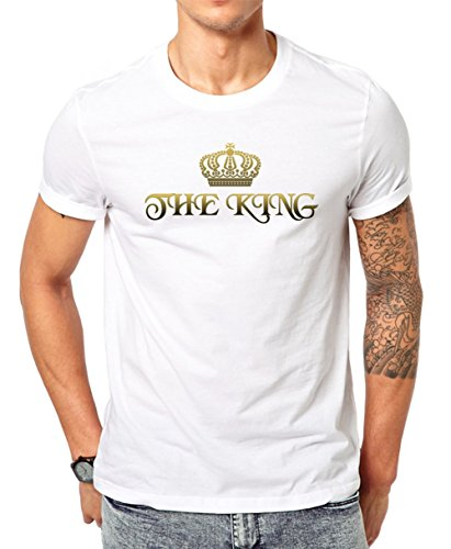 the-queen-series-for-couples-her-majesty-has-a-king-mens-classic-t-shirt-by-jungle-tribe-x-large