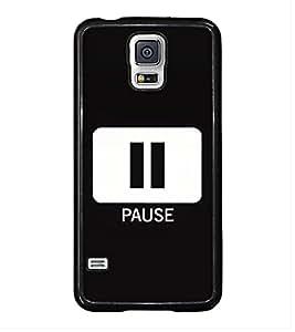 Printvisa Ultra Pause Sign 2D Hard Polycarbonate Designer Back Case Cover for Samsung Galaxy ...