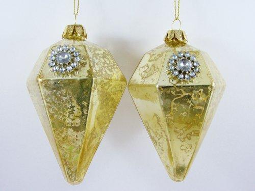 gisela-graham-de-grand-luxe-de-noel-verre-dore-et-strass-decoration-a-suspendre-lot-de-2