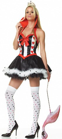 Queen of Hearts Sexy Adult Costume