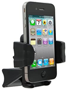 FoneM8® - Air Vent Car Holder For iPhone 3 3G 3GS 4 4S 5 Works With Or Without Case