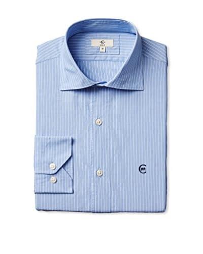 Cerruti 1881 Men's Stripe Dress Shirt