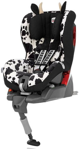 Britax Safefix Plus Group 1 ISOFIX Car Seat (Cowmooflage)
