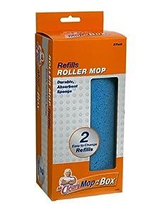 Mr. Clean 4765 Mop-In-a-Box Roller Mop Refill, 2-Pack