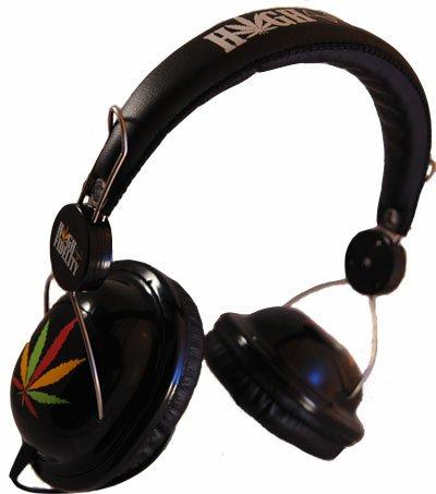 Rasta Aviator Headphones Kali