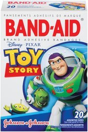 Band-Aid Decorated Toy Story Bandages - 20 Count