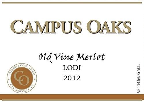2012 Gnekow Family Winery Campus Oaks Lodi Merlot 750 Ml