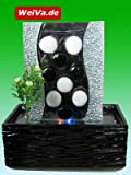 Feng Shui Keramik Glas Zimmerbrunnen mit LED Beleuchtung LR39518