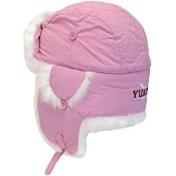 Yukon Tracks Alaskan Taslan Fur Hat, Small, Pink