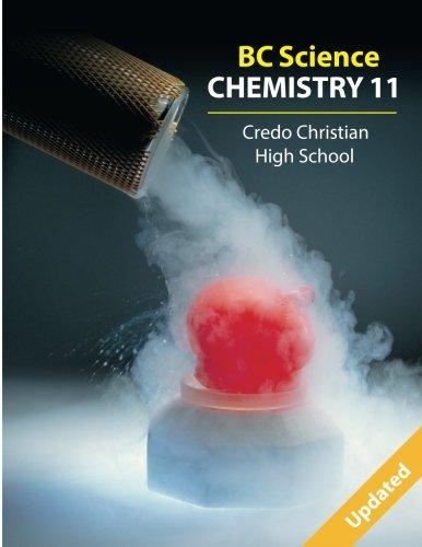 Bc Science Chemistry 11: Credo Christian High School