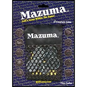 Mazuma Golf Coin Game w/ Pouch Fun Game NEW