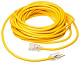 Coleman Cable 1631 75-Foot Contractor Grade Extension Cord