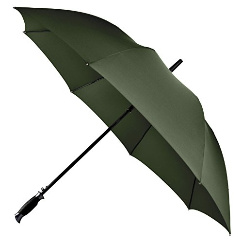LifeTek New Yorker 54 Inch Automatic Open Umbrella with Windproof Frame 210T Microfiber Fabric with Teflon Rain Repellant Technology (Green) (Extra Large Stadium Seats compare prices)