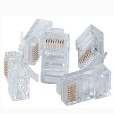 Paladin Tools 9549 Rj45 We/Ss 8P8C Modular Connectors, Cat5E, Cat5, 100 Pack