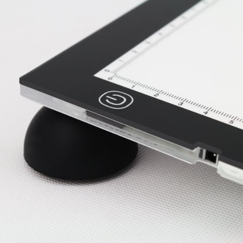 There's another version selling with support pucks at the back to tilt up the light pad to a more comfortable angle for drawing: Amazon.com | Amazon.ca ...