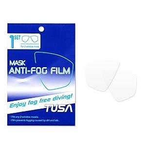 Tusa TA-200A Anti Fog Film - Anti-Beschlag-Film für 2 Glasmasken