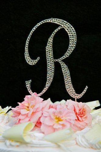promotionSwarovski Crystal Monogram Wedding Cake Topper ...