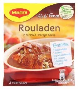 Maggi Fix für Rouladen