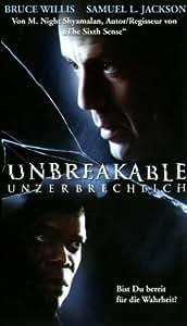 Unbreakable - Unzerbrechlich [VHS]