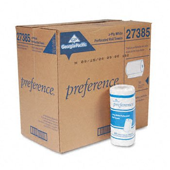 Georgia Pacific Preference® Perforated Paper Towel Rolls TOWEL,RL,PERF,PREF2PLY,WE (Pack of2)