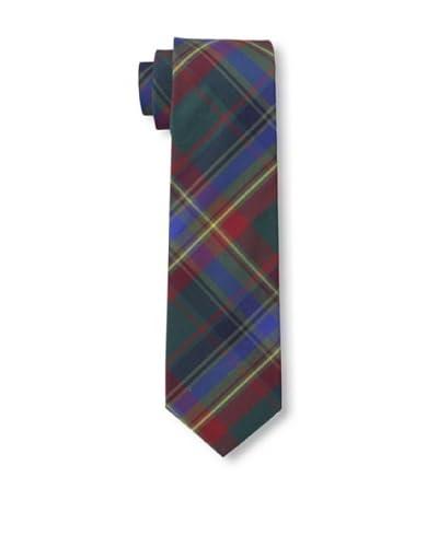 Gitman Vintage Men's Multi Plaid Tie, Blue