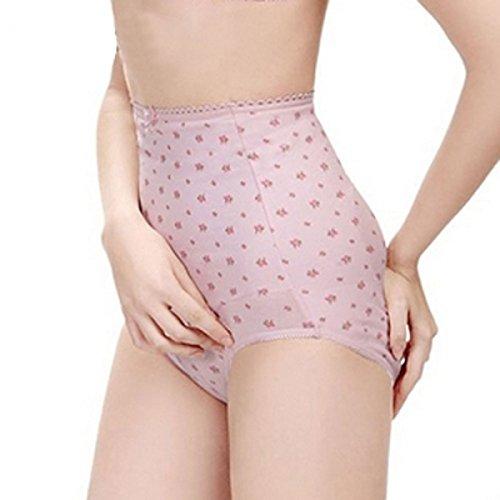 Mammy Village Cotton Maternity Underwear Panty Size L Pink front-1022807