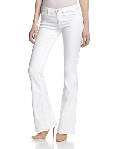 MiH Jeans Women's Skinny Marrakesh Mid Rise Kick Flare Jean  [Superfit White]
