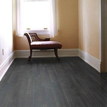 Engineered 3-ply Strand Woven Bamboo Hardwood Flooring Stone By EcoFusion Flooring