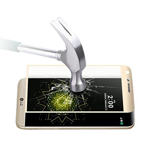 [해외]LG G5의 경우 Ikevan® 3D Edge 전체 곡선 커버링 강화 유리 필름 스크린 보호기 (LG G5 용)/For LG G5 , Ikevan® 3D Edge Full Curved Coverage Tempered