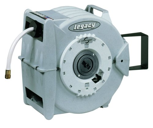 Legacy 5/8-Inch-by-50-Foot Retractable Garden Hose Reel L8346