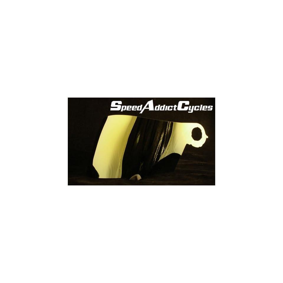 Extreme//Apex//Excel Gold Iridium Shield Suomy Spec-1R