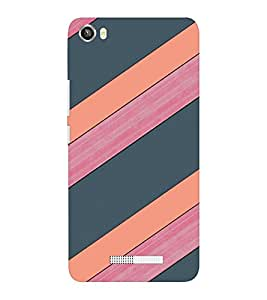 EPICCASE pink and grey Mobile Back Case Cover For Lava Iris X8 (Designer Case)