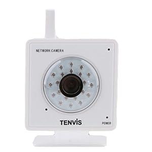 Tenvis MINI319w Caméra ip surveillance sans fil Wifi infrarouge Audio Vue Mobile CCTV Webcam IR-CUT 4MM Caméra White