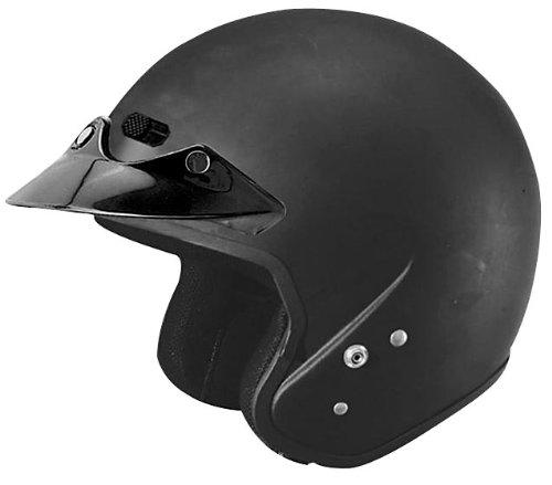 Cyber Helmets U-6 Solid Helmet , Size: Md, Primary Color: Black, Helmet Category: Street, Distinct Name: Flat Black, Helmet Type: Open-face Helmets, Gender: Mens/Unisex 641292